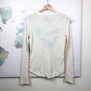 Lucky Brand Tops - Lucky Brand Boho Thermal Shirt Size Medium